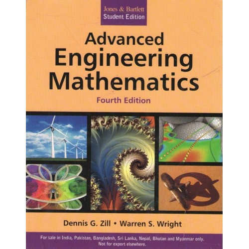 Buy Advanced Engineering Mathematics 4th Edition By Warren S Wright Dennis G Zill Lowest Price In India