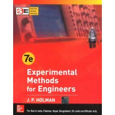 Experimental Methods For Engineers 7th Edition  (English, Paperback, JP HOLMAN)