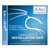 Kali Linux 2017.3 Bootable DVD - Installation Disc