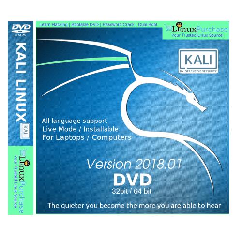 Buy Latest Kali Linux 2018 1 Dvd Pendrive 32 64 Bit