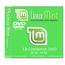 Linux Mint 18 Sarah 32/64 bit Bootable DVD - Installation Disc