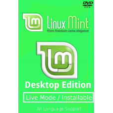 Linux Mint 19 Tara 32/64 bit Bootable DVD - Installation Disc