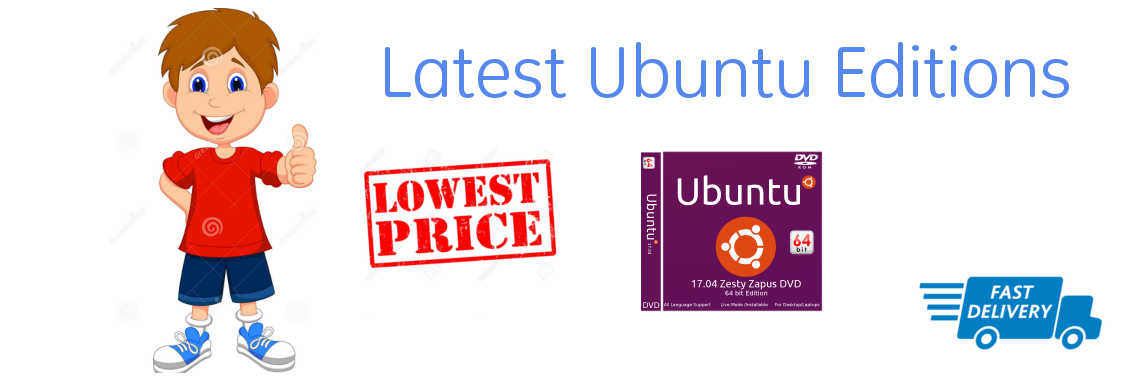 Buy latest Ubuntu DVDs online in India